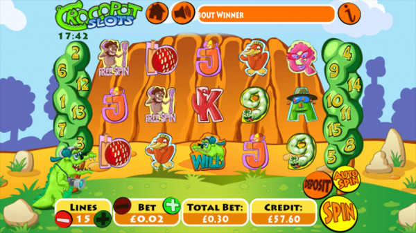 Crocopot Slots Screenshot