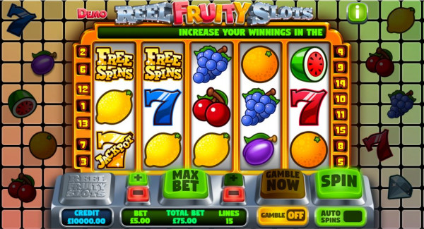 Reel Fruity Slots Screenshot