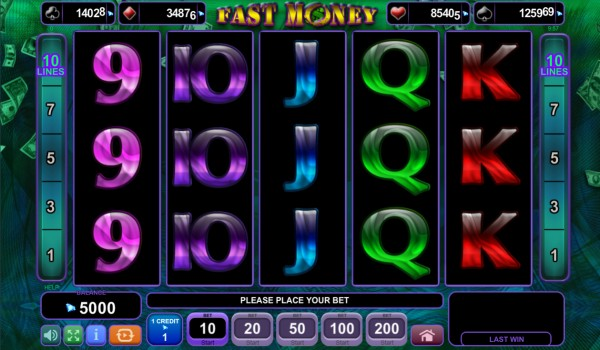 Fast Money Screenshot