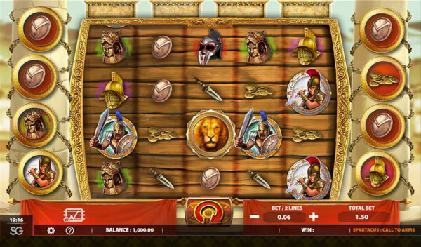 Spartacus Call to Arms Screenshot