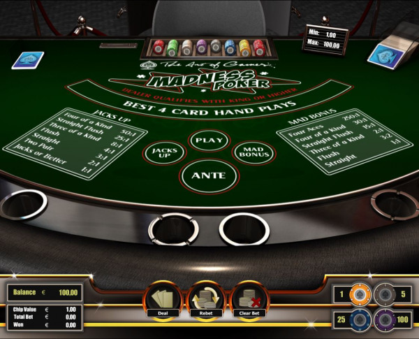 Poker Madness Screenshot