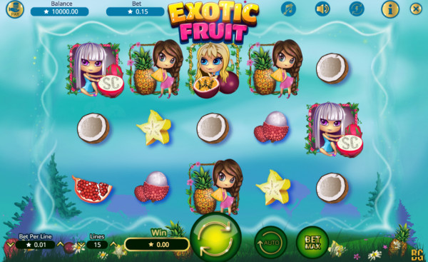 Exotic Fruits Screenshot