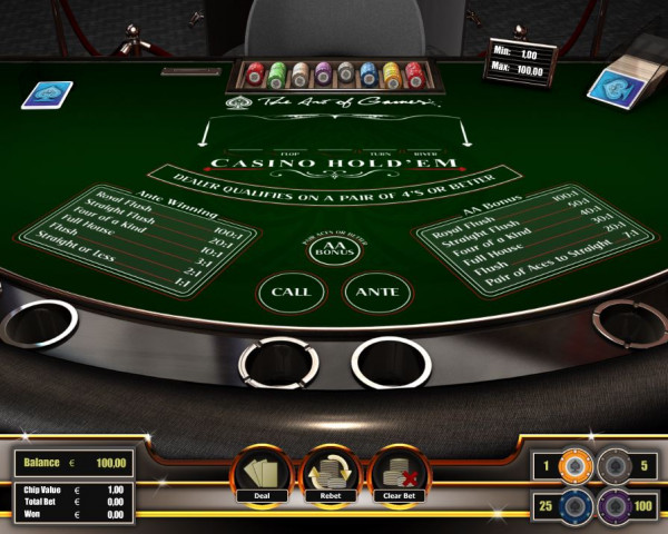 Casino Hold'em Screenshot