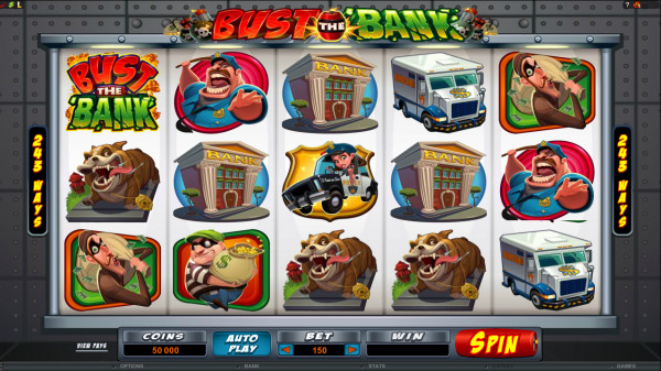 Bust the Bank Screenshot