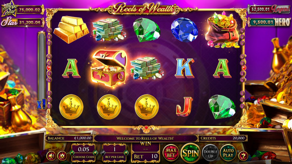 Reels of Wealth Screenshot