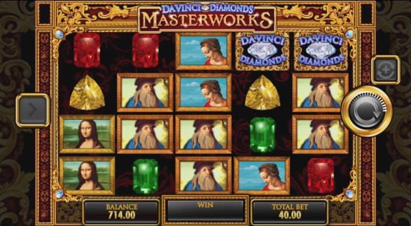 Da Vinci Diamonds Masterworks Screenshot