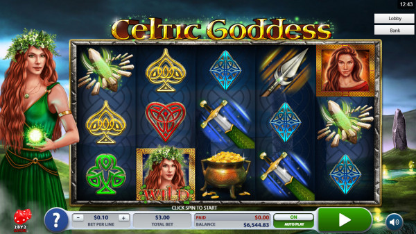Celtic Goddess Screenshot