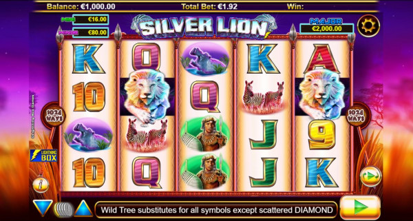 Stellar Jackpots with Silver Lion Screenshot