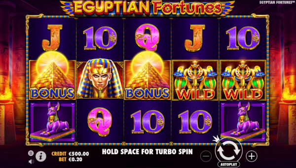 Egyptian Fortunes Screenshot
