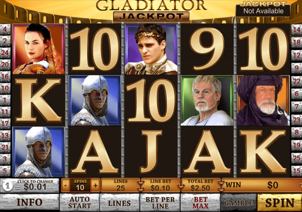 Gladiator Jackpot Screenshot