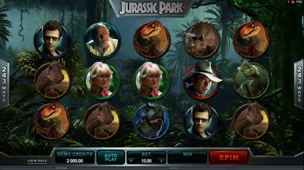 Jurassic Park Screenshot