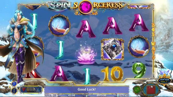 Spin Sorceress Screenshot
