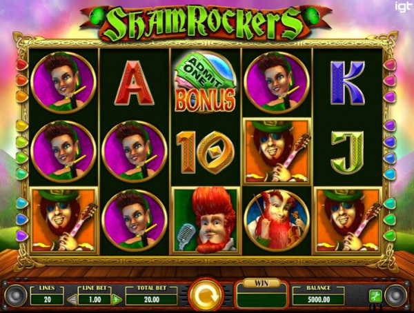 Shamrockers Screenshot