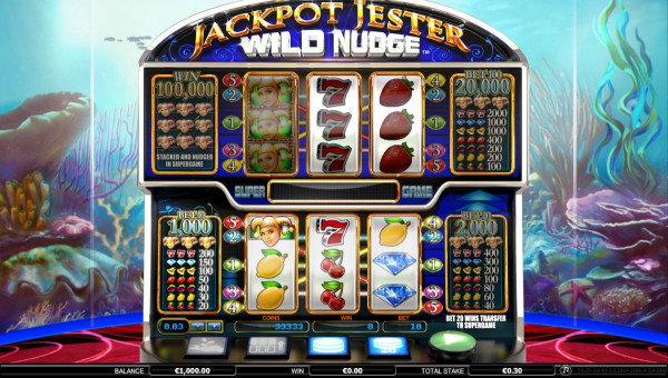 Jackpot Jester Wild Nudge Screenshot