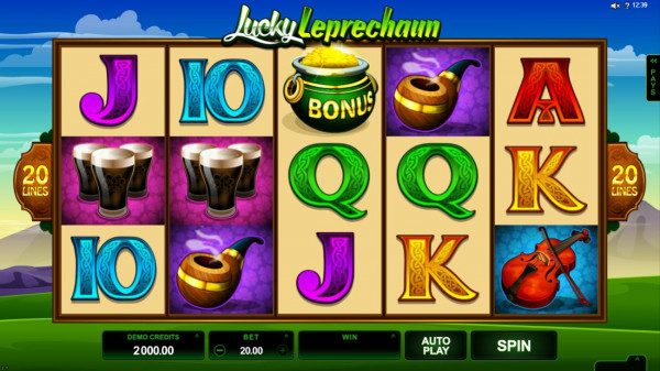 Lucky Leprechaun Screenshot