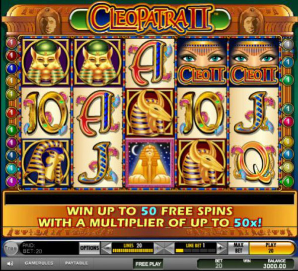 Cleopatra II Screenshot