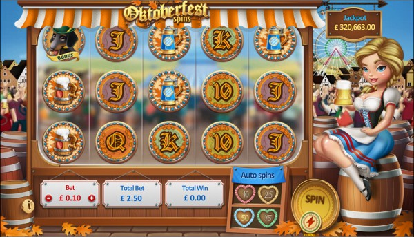 Oktoberfest Spins Screenshot
